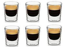 Espresso 6PCS/Lot 85ml Double Wall Coffee Glass Mug Cups Tea Drinking Shot Cup