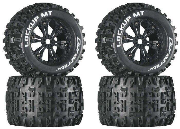 Duratrax DTXC3578 Montado Lockup MT 3.8  Neumáticos   Ruedas (4) Revo 3.3