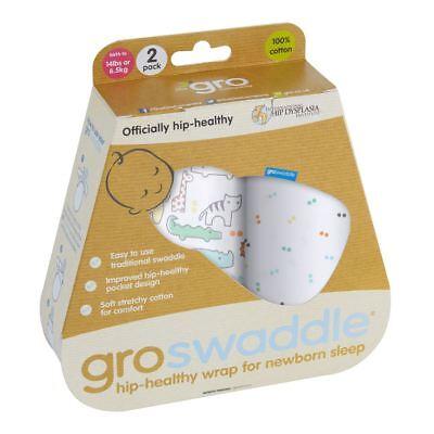Acquista A Buon Mercato Animal Fair Hip-healthy Groswaddle Baby Swaddle Dalla Società Gro - 0-3m 2-pack- Design Accattivanti;