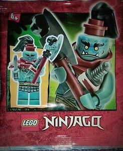 Lego Minifigures Ninjago • MUNCE MIT AXT UND DOLCHEN ...