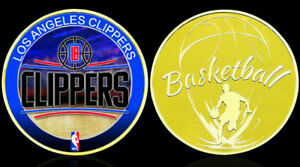 ★★★ GROSSE MEDAILLE PLAQUéE OR BASKET NBA : LOS ANGELES CLIPPERS ★★★ T