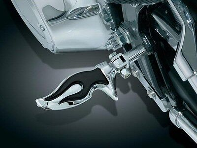 Kuryakyn Stiletto Rear Foot Pegs /& Adapters Honda 750 Shadow Ace 2000-2018