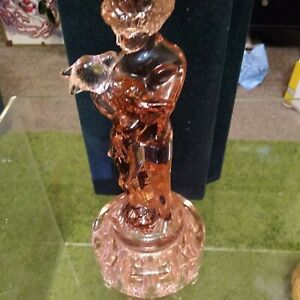 Vintage Cambridge Glass Fleur grenouille