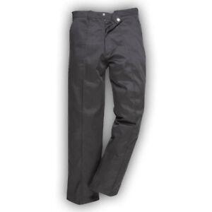 Portwest-Preston-para-Hombre-Pantalones-de-Trabajo-Durable-constructores-handymans-trabajo-uniforme