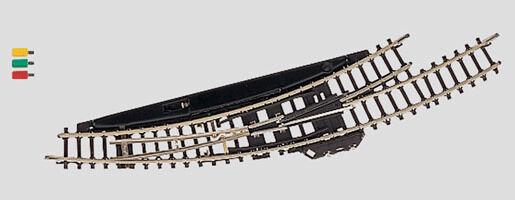 Scala Z 8568 Elettromagnetico Deviatoio in Curva SX Raggio 195 mm Nuovo