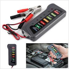12V Battery Alternator Charging Test Tester Car Van Motorbike With LED Indicator