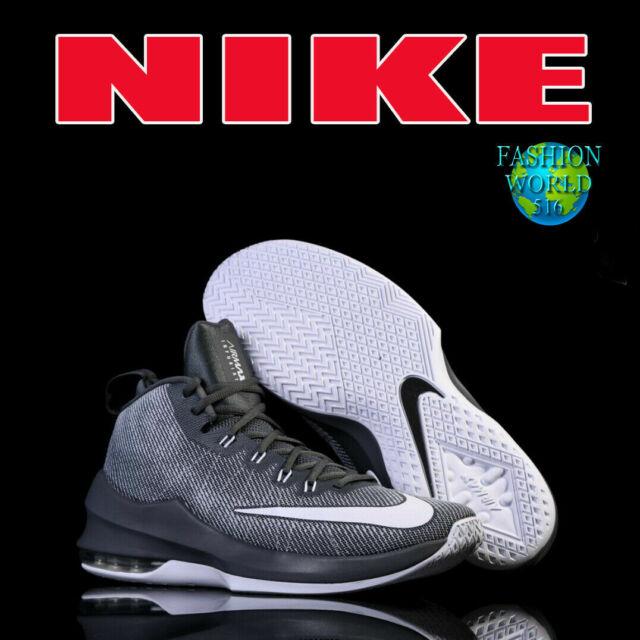 Nike Air Max Infuriate Mid Dark Grey White Wolf Mens Size US 13 Aa4438 011 NWOB