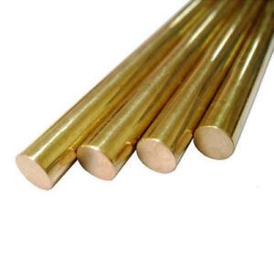 5pcs Φ12mm x 100mm H62 Brass Round Rod D12mm x 100mm long Solid Lathe Bar cut