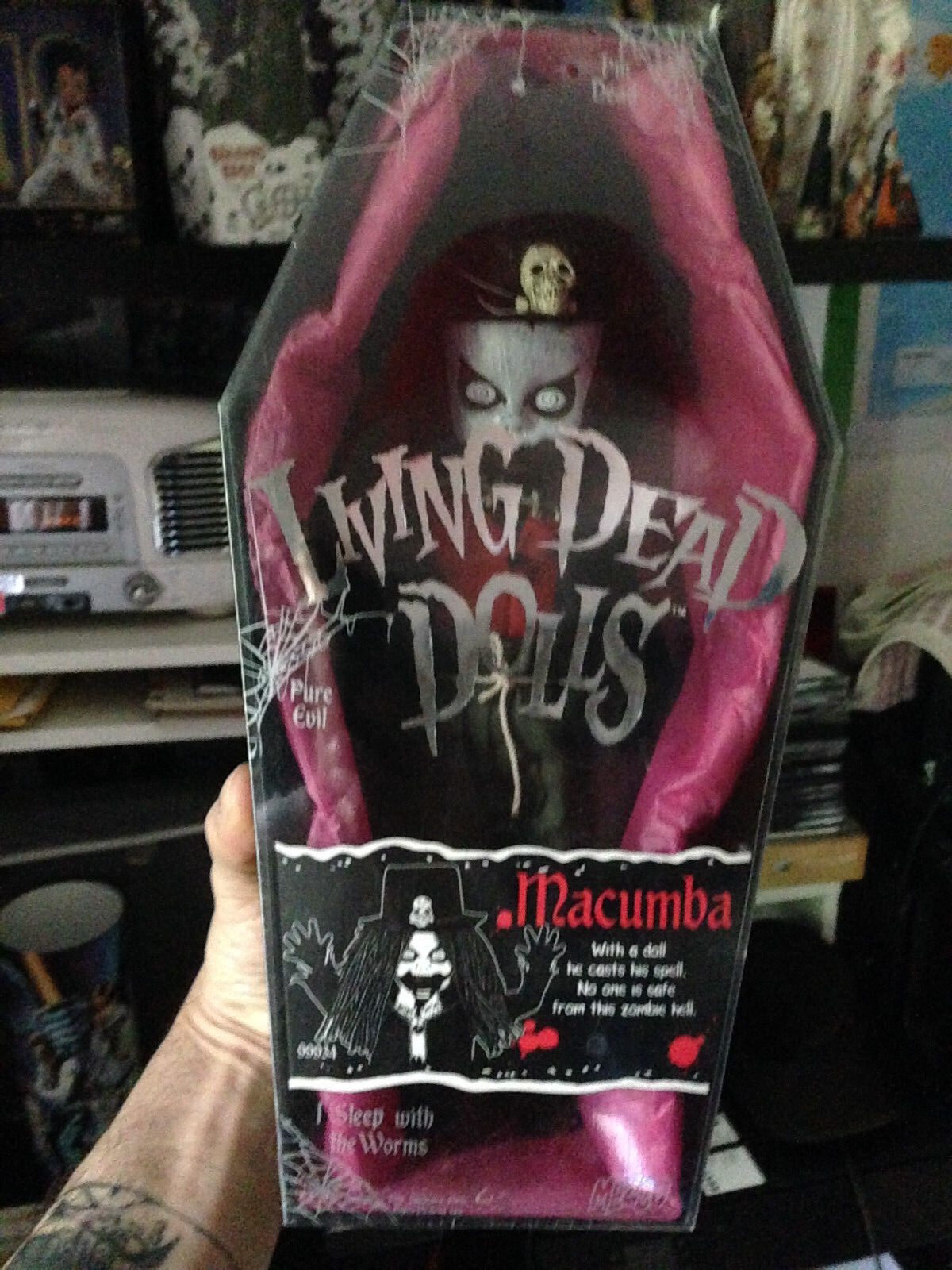 LIVING DEAD DOLL MACUMBA SERIES 4 RARE SEALED NEW
