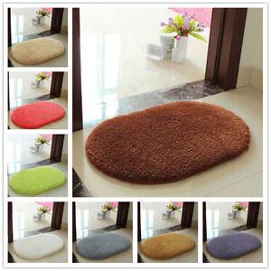 Absorbent Soft Bathroom Bedroom Floor Non-slip Mat Memory Foam Bath Shower Rug z