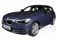 BMW F20 1 SERIES BLUE 1/18 DIECAST MODEL CAR BY PARAGON 97005