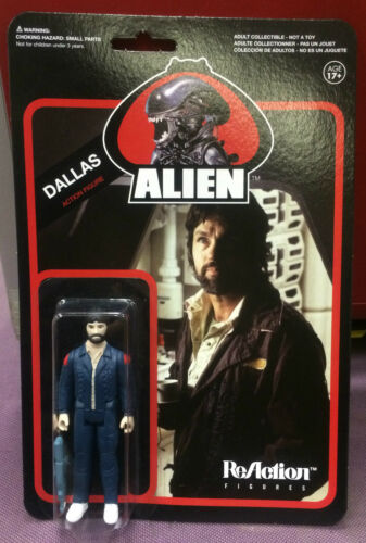 "Alien ReAction Figures 3 3//4/"" Inch DALLAS 1979 Figure MOC Funko NEW"