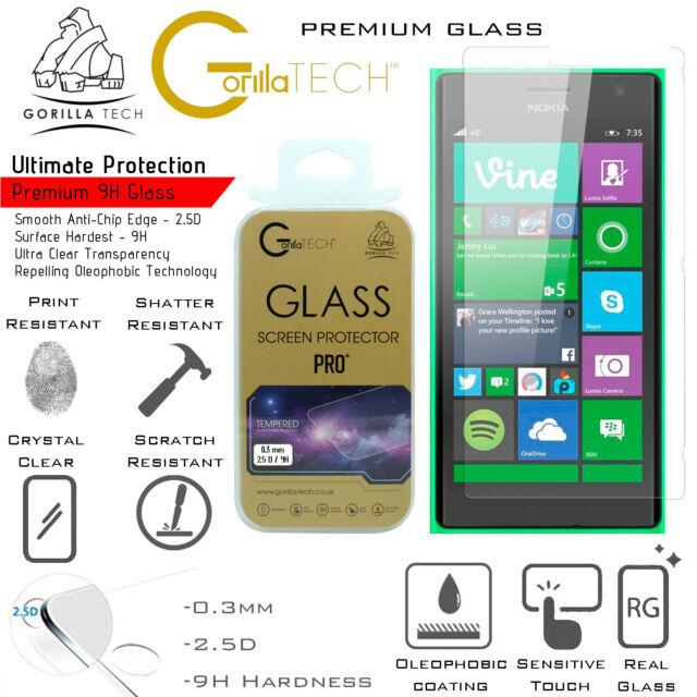 New Lumia 950 Genuine Gorilla Tech Brand Screen Protector Tempered Glass Film