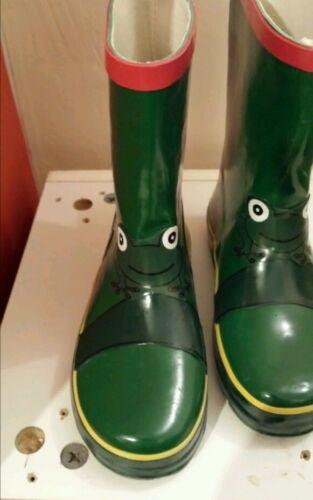 Kids Frog Wellington Boots