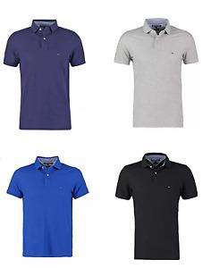 Tommy Hilfiger Poloshirt Shirt Polo, Freizeit Hemd, Kurzam Regular Fit NEU S-XXL