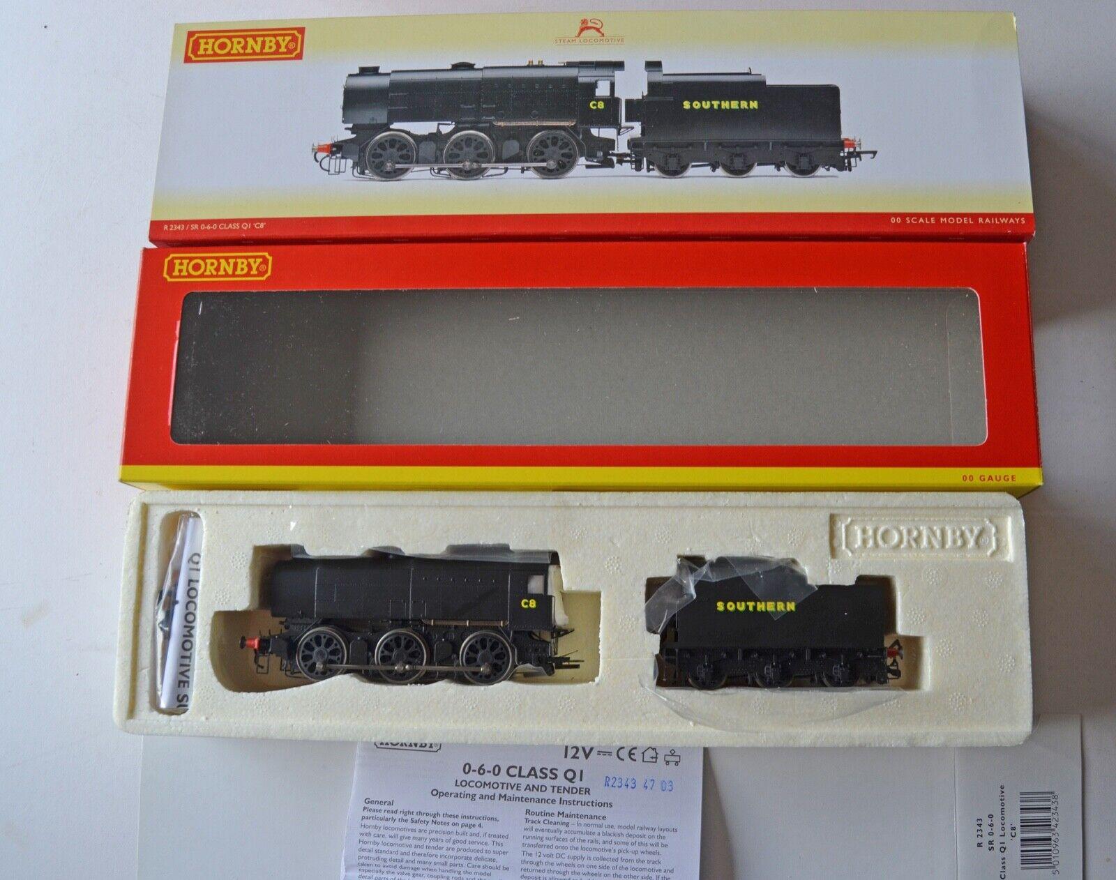 Hornby R 2343 SR Class Q1 Steam Loco Boxed nouveau   offres de vente