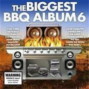 Various-Artists-The-Biggest-BBQ-Album-6-New-amp-Sealed-3-CDs