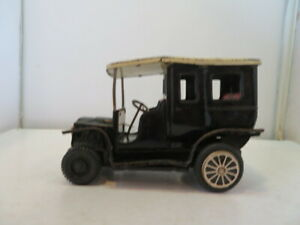 Vintage Tin Classic Coupe Style Toy Car