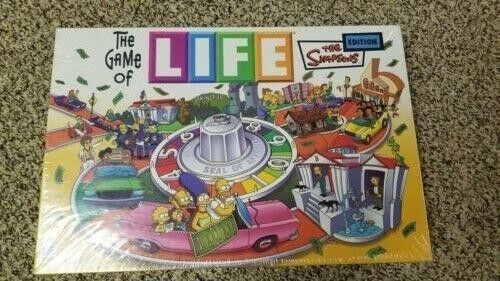 Hasbro Game Of Life Simpsons Édition
