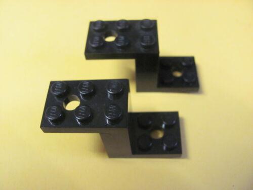 LEGO 6087 @@ Bracket 5 x 2 x 2 1//3 with 2 Holes x2 @@ BLACK @@ NOIR