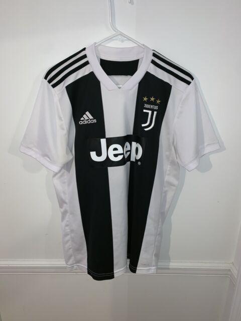 $90 Adidas Juventus Home Jersey 2018/19. CF3489. Men's Size Medium White Black