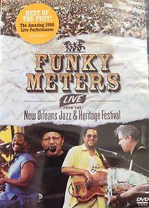 Funky Meters - Live Da Nuovo Orleans Jazz E Patrimonio Festival 2005 DVD Nuovo