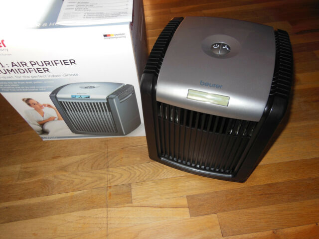 Beurer Air Cleaner and Air Humidifier, Purfier with Easy Washable Filter LW110