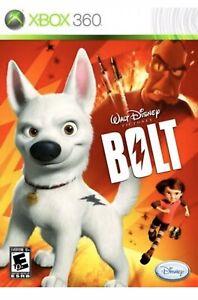 Disney-039-s-Bolt-Xbox-360-One-Kids-Game-Super-Hero-Dog