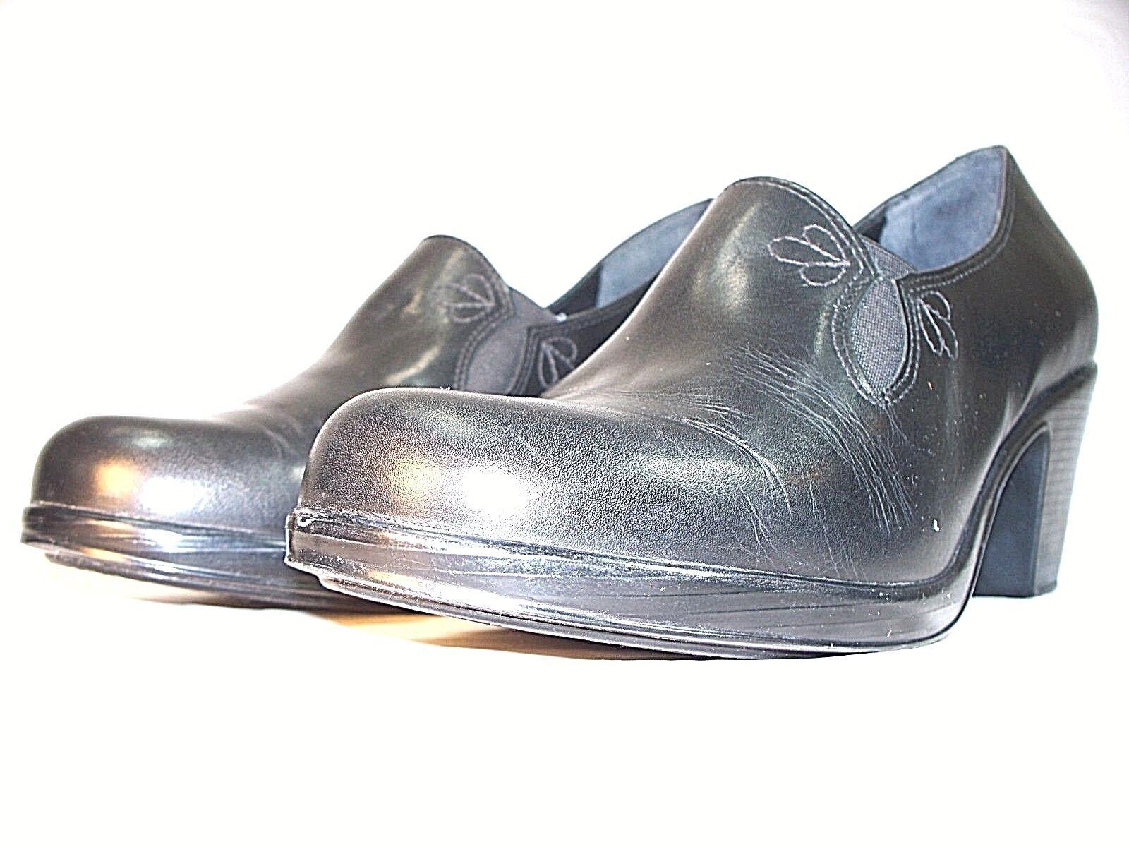 Dansko zapatos talla 10 41 euros euros euros bombas Negro Cuero Beth estilo 3303020200 Usado En Excelente Condición  barato y de alta calidad