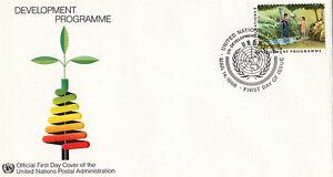 Nazioni UNITE 1986 programma di sviluppo PRIMO GIORNO DI COPERTURA New York SHS