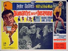 TWO-WAY STRETCH 1960 Peter Sellers, Liz Fraser, David Lodge MEXICAN LOBBY CARD