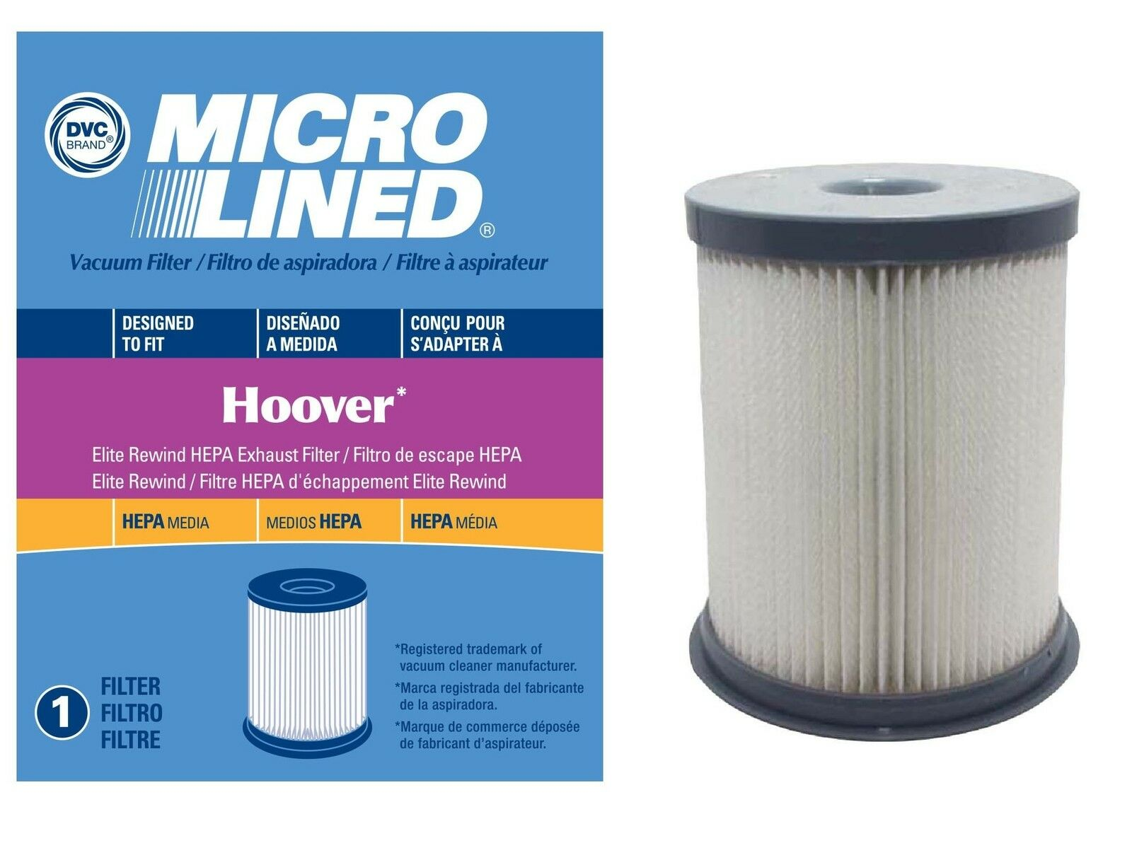 Hoover 59157055 F973 Dust Cup Filter