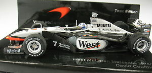 Minichamps-f1-West-mclaren-mercedes-mp-4-13-coulthard-Team-Edition-1-43