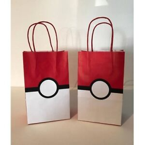 Image Is Loading 10 PC Pokemon Party GOODY GIFT BAGS PARTY