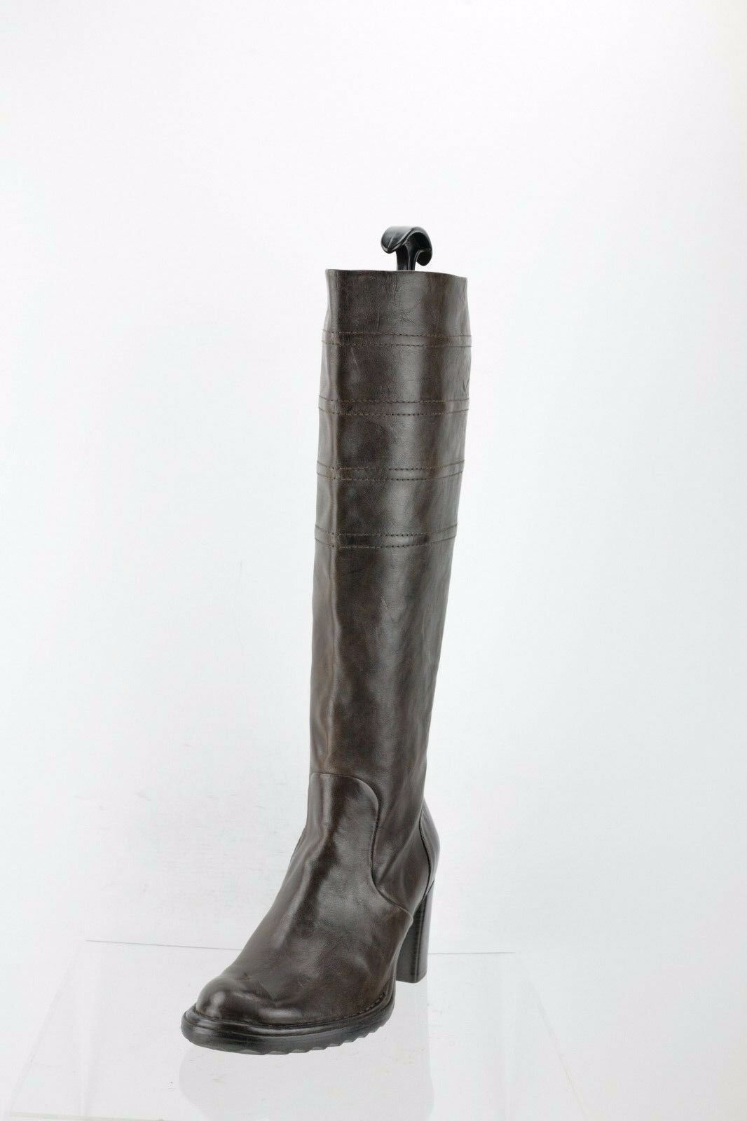 Alberto Fermani Nola Pepe Brown Knee High Boots Women's Shoes Size 36 M NEW