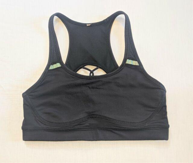 LULULEMON Sweaty Or Not II Activewear Sports Bra - Black - Sz 6