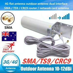 Dual-SMA-Male-3G-4G-LTE-Outdoor-Fixed-Bracket-Wall-Mount-Signal-Booster-Antenna