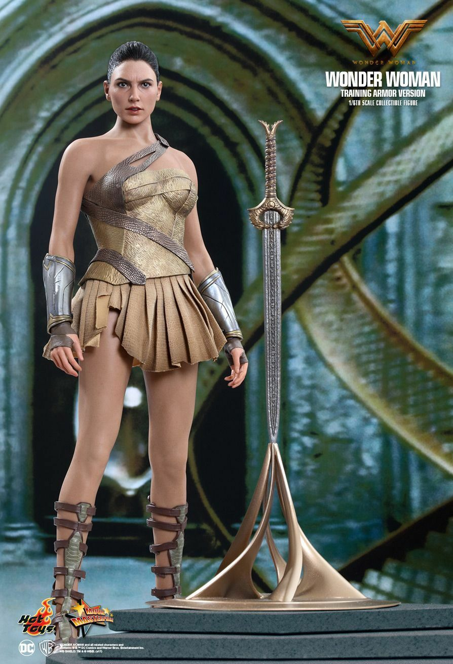 (US) HOT TOYS 1 6 6 6 DC WONDER WOMAN MMS424 DIANA PRINCE TRAINING ARMOR VERSION bb925e