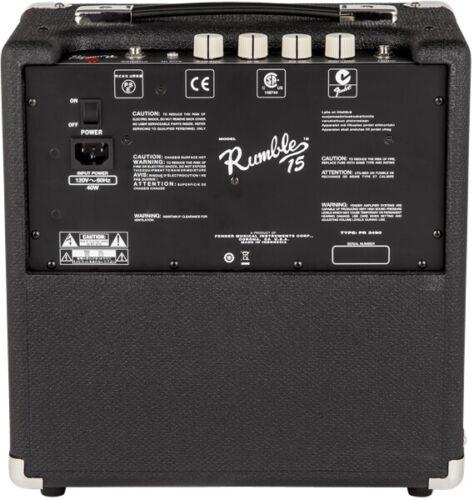 Fender Rumble 15 v3-1x8 15W Bass Guitar Combo Amplifier