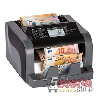 Contamonete professionale separa monete con grande display LED e funzioni personalizzabili con stampante