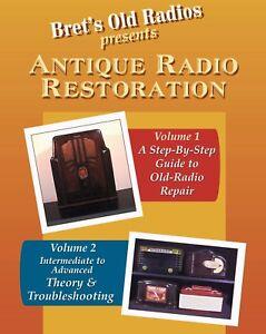 Antique-Radio-Restoration-Vols-1-amp-2-New-Combo-Pack