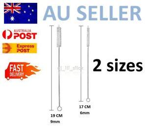 20-New-Stainless-Steel-Straw-Cleaning-Brush-Metal-Nylon-Brushes-Straws-2-sizes