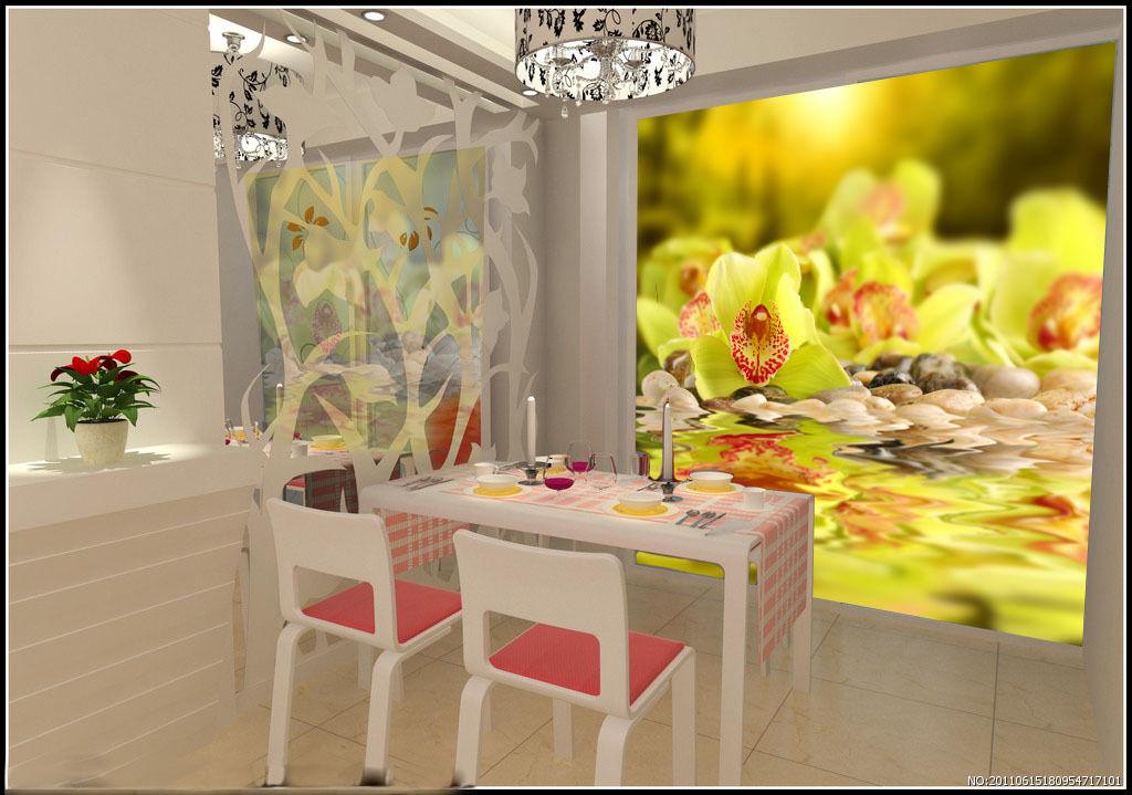 3D Gelb flowers 1 WallPaper Murals Wall Print Decal Wall Deco AJ WALLPAPER