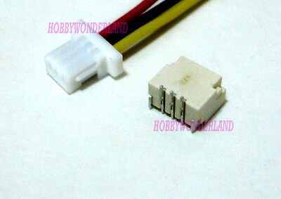 JST 1.0mm SH 3-Pin Connector Housing with wire 28AWG & Top Entry Header 10 SETS