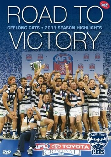 1 of 1 - F21 BRAND NEW SEALED AFL - 2011 Premiers Road To Victory Geelong Cats (DVD,2011)