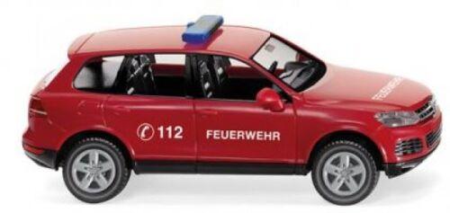 1//87 Wiking VW TOUAREG vigili del fuoco 0601 28
