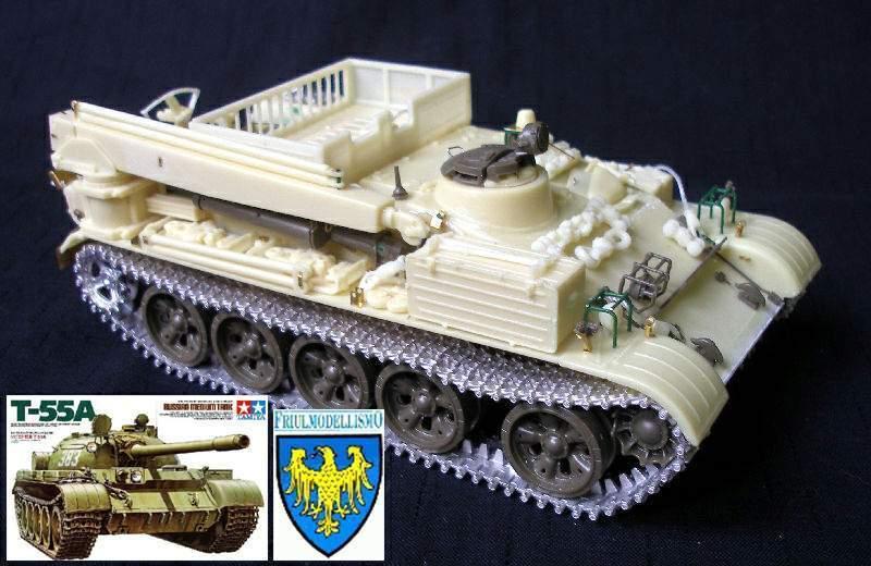 VT-55 & T-55A COMBI set 1 35 PanzerShop Friul Tamiya