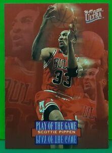 Scottie Pippen subset card 1996-97 Fleer Ultra #297