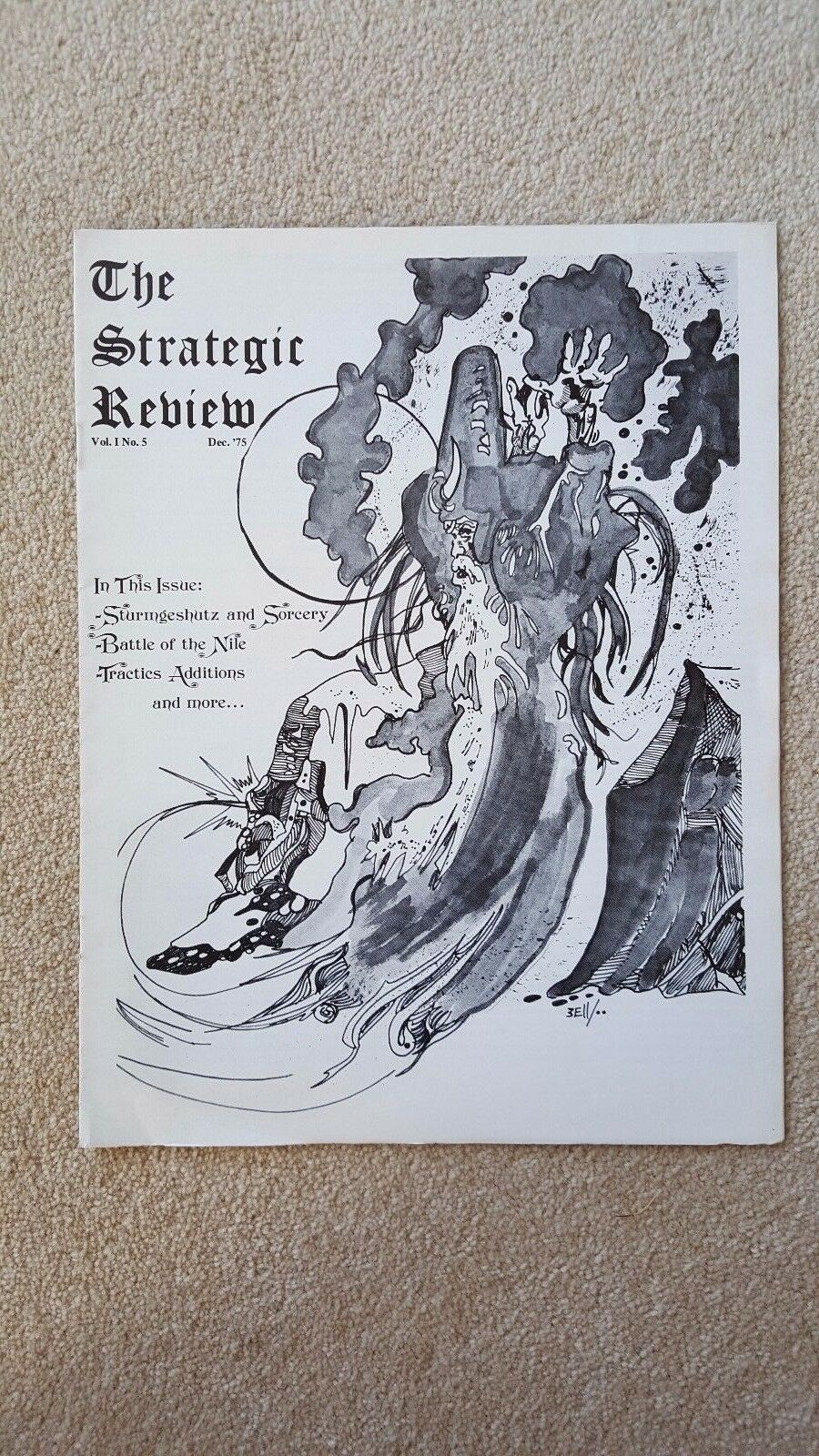spedizione gratuita in tutto il mondo Molto RARO Dungeons e Dragons  il prossimo REVIEW REVIEW REVIEW  Vol1 N. 5 TSR 1975 D&D pezzo di storia  molto popolare