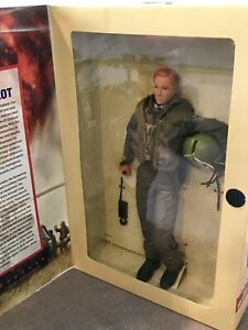 GI-JANE-Doll-Action-Figure-LTD-US-Army-Helicopter-Pilot-G-I-Joe-RED-Hair-RARE